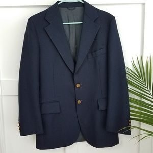 YVES SAINT LAURENT Vintage Navy Blazer